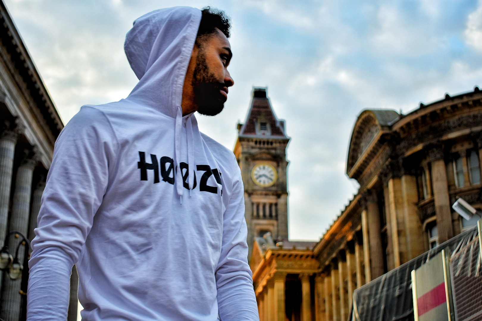 Victoria Square Birmingham Hoozy official hooded tee