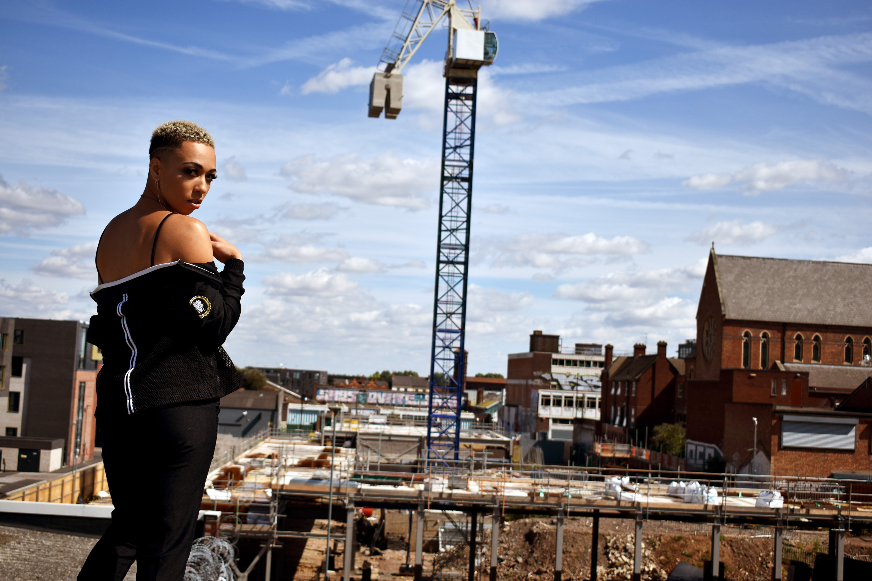Mesh KnowHope Meshtop taken on the roof of The Edge Cheapside Birmingham