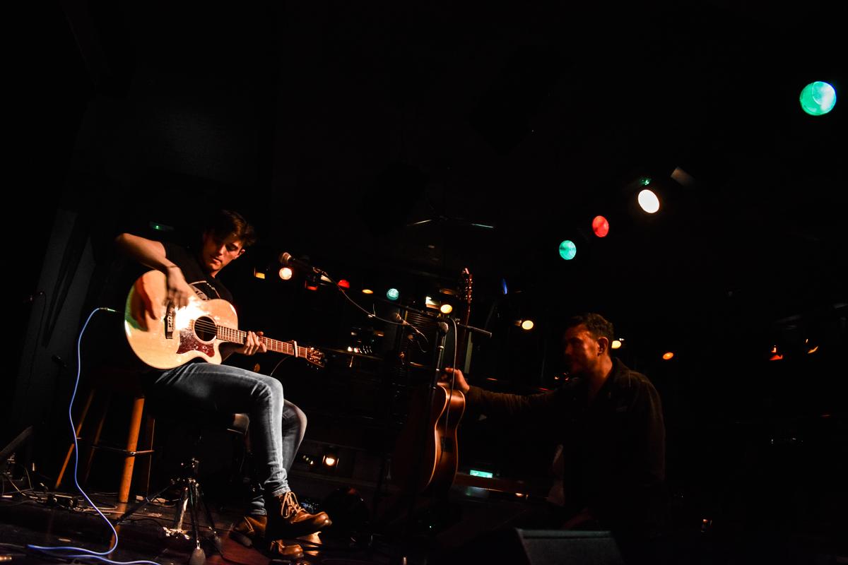Sean Duggan performing taken by King-Sii