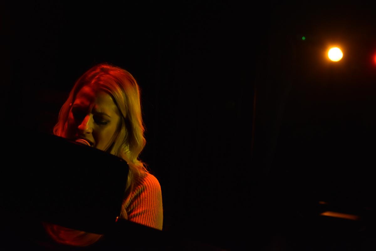 Megan Reece performing at the Jamhouse in Birmingham
