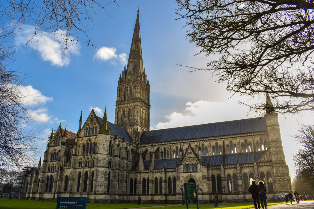 Cathedral in Sailsbury, click to see more about my adventure here